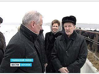 Губернатор Алексей Гордеев с рабочей поездкой выехал в Рамонский район