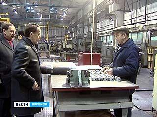"""Губернатор посетил один из крупнейших воронежских заводов - """"Рудгормаш"""""""