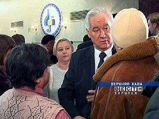 Губернатор Владимир Кулаков посетил Верхнехавский район