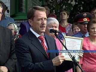 Губернатор Воронежской области чествовал заслуженных учителей