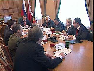 Губернатор встретился с лидерами региональных отделений 7 партий