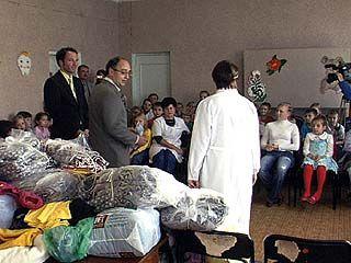 Гуманитарная акция прошла в Таловском районе