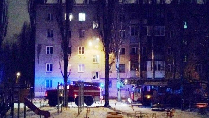 В Воронеже при пожаре на улице Волгодонской погибли старушка и мужчина