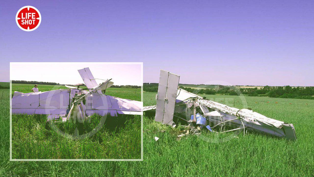 Появились подробности крушения самолёта в Воронежской области
