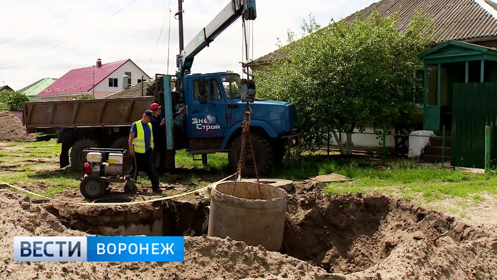 Микрорайон Воронежа Никольское начали подключать к новому водопроводу
