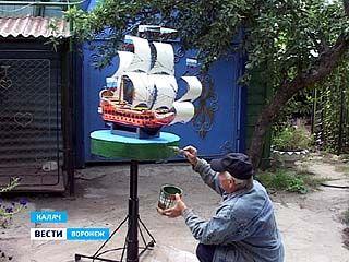 Хобби калачеевца Николая Житенёва - превращать жизнь в сказку
