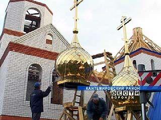 Храм святого князя Александра Невского возрождается