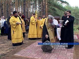 Храм в защиту от пожаров возведут в посёлке Шуберское