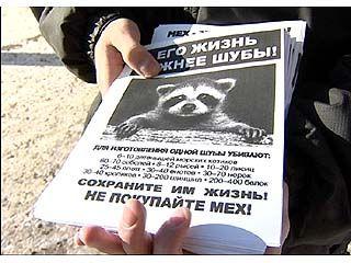 """""""Хранители радуги"""" организовали акцию в защиту прав животных"""