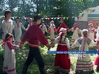 Хутор Гринев в Калачеевском районе отметил день рождения