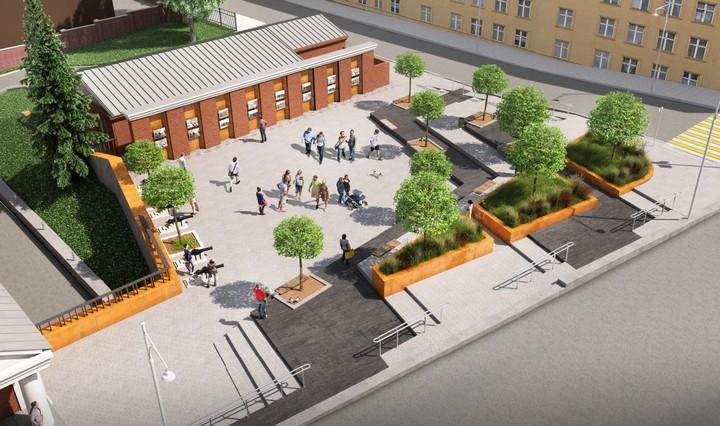 В Воронеже начали поиск подрядчика для благоустройства площадки у музея  «Арсенал»