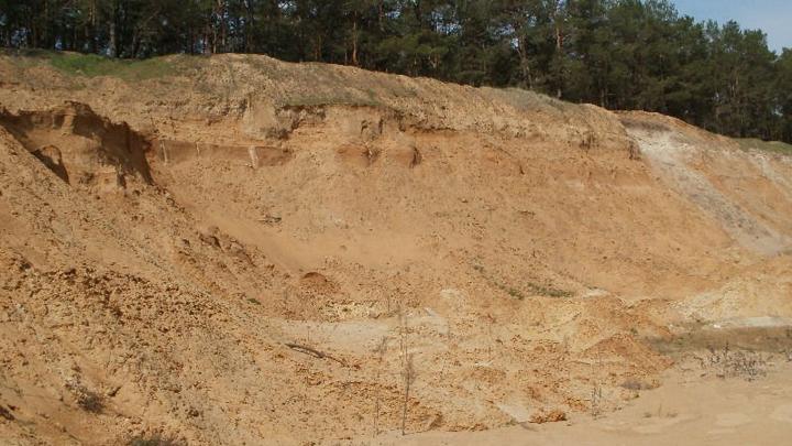 При обрушении карьера в Воронежской области подростка насмерть засыпало песком