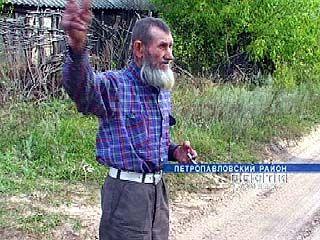 Иван Губин - единственный житель хутора Рубеж