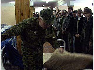 Из воинской части сбежал воронежский призывник