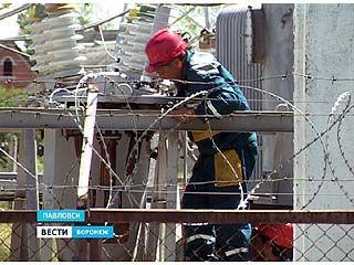 Из-за очередной аварии на электросетях Павловск остался без света
