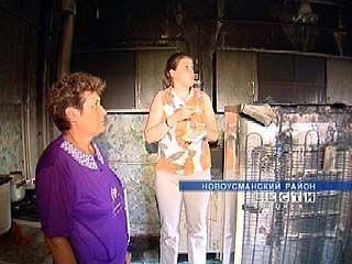 Из-за скачка напряжения в поселке Воля сгорела бытовая техника