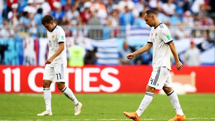 Сборная России проиграла в матче с Уругваем