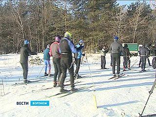 Кадеты прошли на лыжах 20 километров в честь освобождения Воронежа от фашистов