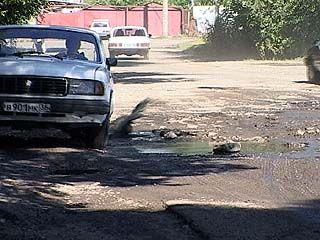 Калачеевские дороги находятся в неудовлетворительном состоянии