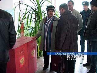 Калачеевский район готов к проведению выборов