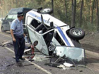 Капитан ДПС погиб в автомобильной аварии