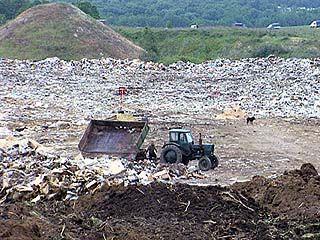 Каширскую администрацию обязали решить проблему вывоза мусора