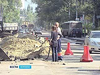 Комплексное благоустройство улицы Ростовской обещают закончить ко Дню города