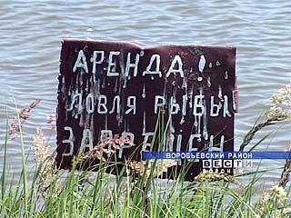 Краснопольское хозяйство самовольно арендовало пруд
