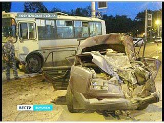 """Крупная авария произошла на Ленинском проспекте у Музея """"Диорама"""""""