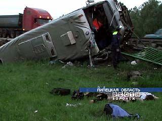 Крупное ДТП в Липецкой области: 4 человека погибли