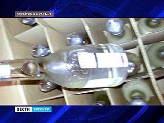 Крупную партию алкоголя изъяли полицейские в Воронежской области