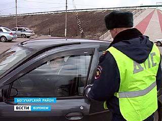 Крупную партию кокаина изъяли сотрудники ДПС в Богучарском районе