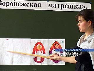 """Курс """"матрёшковедения """" от студентов Борисоглебского пединститута"""