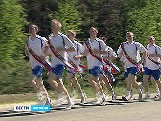Курсанты ФСИН устроили пробег по памятным местам Великой Отечественной