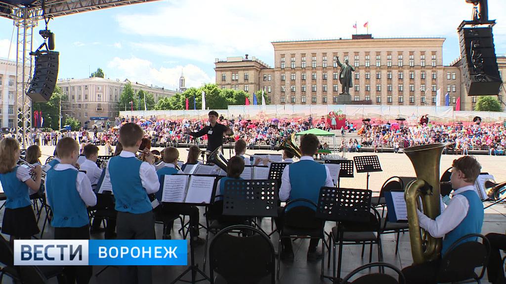 Как в Воронеже «отгремел» фестиваль духовых оркестров