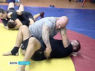 Легенда боев без правил Джефф Монсон провел в Воронеже мастер-класс