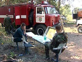 Летом 2007 года зафиксировано более 700 лесных пожаров