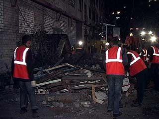 """Ликвидация последствий взрыва на складе """"Омега"""" продолжалась всю ночь"""