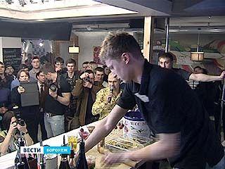 Лучших барменов Центральной России выбрали в Воронеже