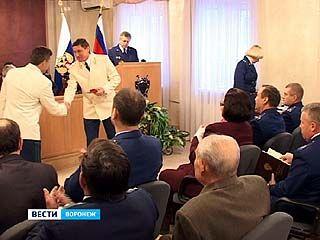 Лучшим сотрудникам воронежской прокуратуры вручили награды