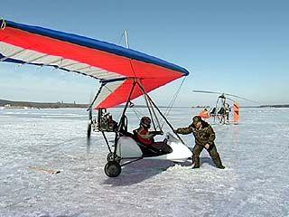 Малая авиация пришла на помощь воронежским экологам