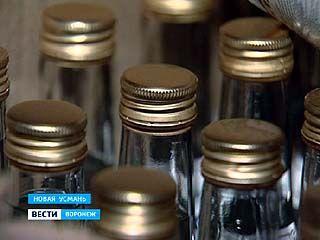 Машину сомнительной водки задержали в районе Новой Усмани