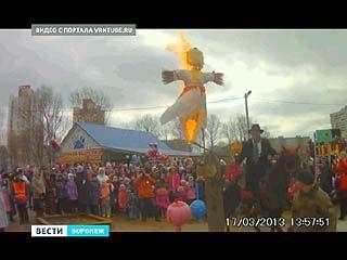 Масленица в Воронеже чуть не обернулась трагедией