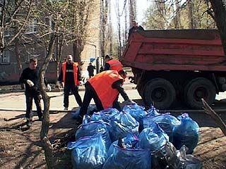 Массовый выход на уборку города запланирован на 16 апреля