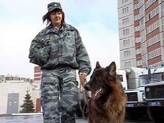 Майор Лариса Насонова - в числе лучших милиционеров России
