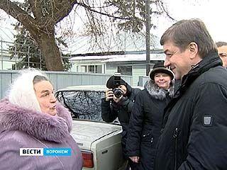 Мэр проинспектировал самый удаленный воронежский микрорайон Краснолесный
