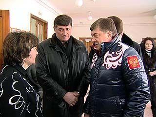 Мэр Сергей Колиух посетил реальную школу