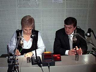Мэр Воронежа отвечал на вопросы горожан в прямом эфире