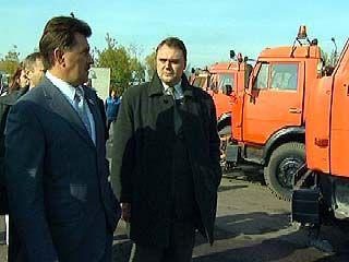 Мэр Воронежа проверял готовность спецтехники к зиме