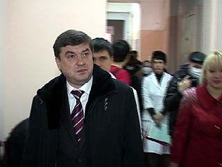 Мэр Воронежа Сергей Колиух посетил студенческую поликлинику